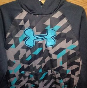 Boys Youth XL Under Armour Hooded Sweatshirt